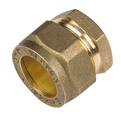 Image for Compression Stopend - Brass - 15mm from StoreName