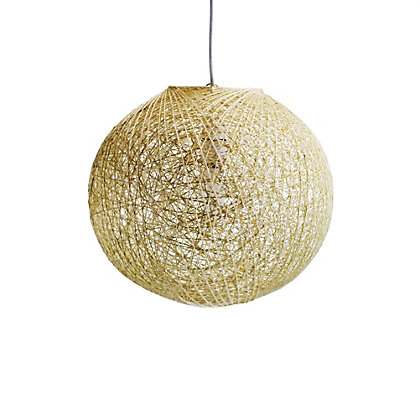 Image for Abaca Ball Shade - Natural - 32cm from StoreName