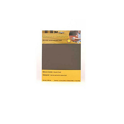 Image for 3M Wet or dry 9088 Sheet - Assorted - 4 Pack from StoreName