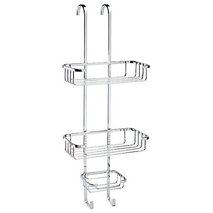 Image for Croydex Hook-Over 3 Tier Basket from StoreName
