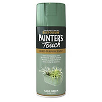 Rust-Oleum Gloss Spray Paint - Sage Green - 400ml