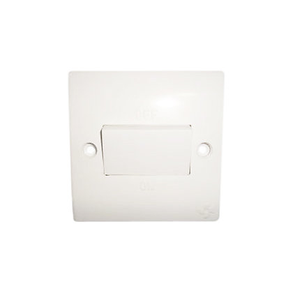 Image for One Gang Fan Isolation Switch - White from StoreName