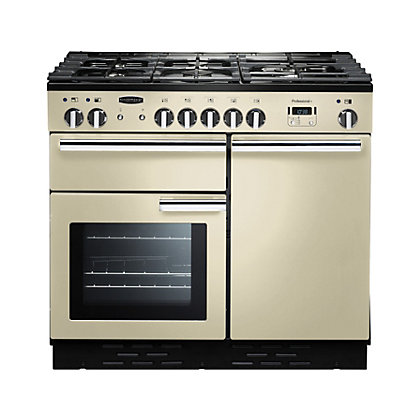 Image for Rangemaster Professional Plus 100cm Dual Fuel Range Cooker - Cream from StoreName