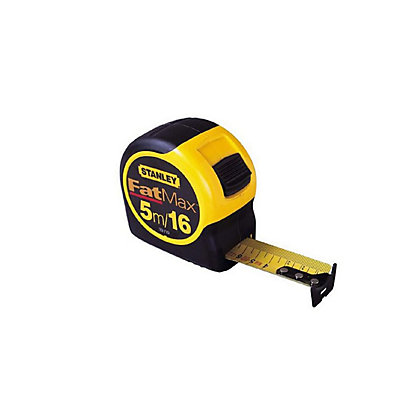 Image for Stanley Fat Max Tape Measure - 5m from StoreName
