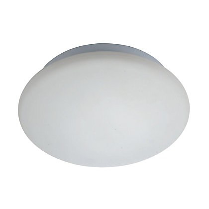 cosmos flush ceiling light frosted glass. Black Bedroom Furniture Sets. Home Design Ideas