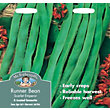 Runner Bean Stringless Scarlet Emperor (Phaseolus Coccineus) Seeds
