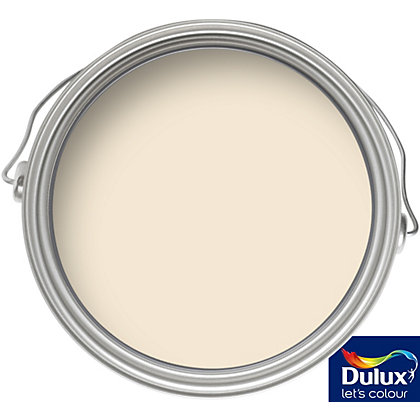 Image for Dulux Orchid White - Silk Emulsion Paint - 5L from StoreName