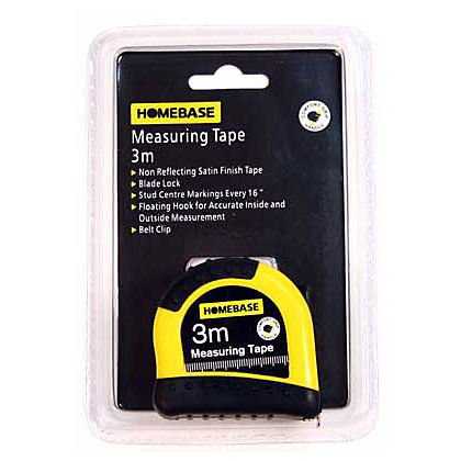 Image for Tape Measure - 3m from StoreName