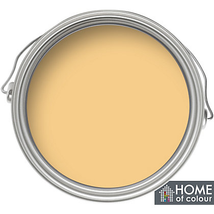 Image for Home of Colour Onecoat Warm Yellow - Matt Emulsion Paint - 5L from StoreName