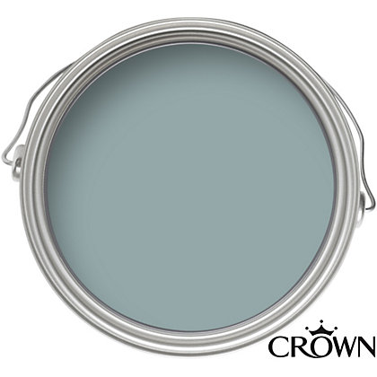 Image for Crown Period Colours Breatheasy Classic Duck Egg - Flat Matt Emulsion Paint - 2.5L from StoreName