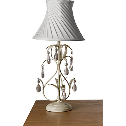 Image for Georgina Table Lamp - Cream - 47cm from StoreName