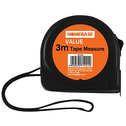 Image for Value Tape Measure - 3m from StoreName