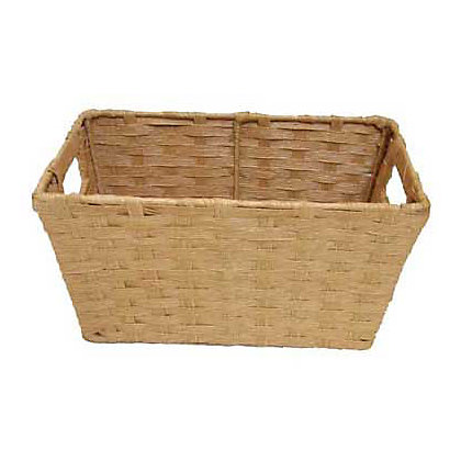 Image for Home Of Style Natural Paper Basket - Small from StoreName