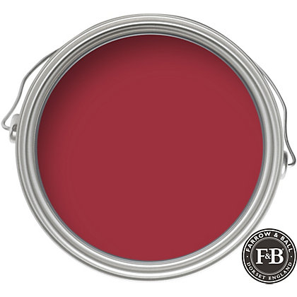 Image for Farrow & Ball Estate No.43 Eating Room Red - Matt Emulsion Paint - 2.5L from StoreName