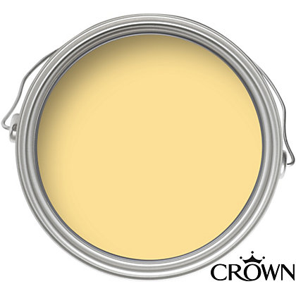 Image for Crown Kitchen and Bathroom Lemon Squash - Mid-sheen Paint - 40ml Tester from StoreName