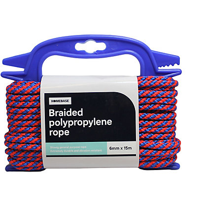Image for Polypropylene Cord Blue/Red Handireel - 0.6 x 1500cm from StoreName