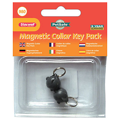 Image for Magnetic Black Collar Mouse Keys - 2 Pack from StoreName