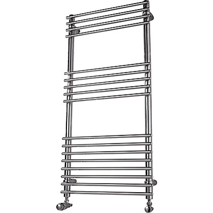 Image for Sardinia Heated Towel Rail - 730 x 600mm - Chrome from StoreName