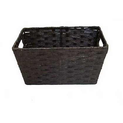 Image for Home Of Style Brown Paper Basket - Small from StoreName