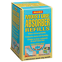 Humydry Midi Moisture Absorber Refill - 3 Pack