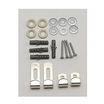 Image for Mirror Clip Set - Zinc Plated from StoreName