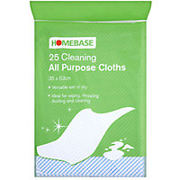 All Purpose Cloths - 25 Pack