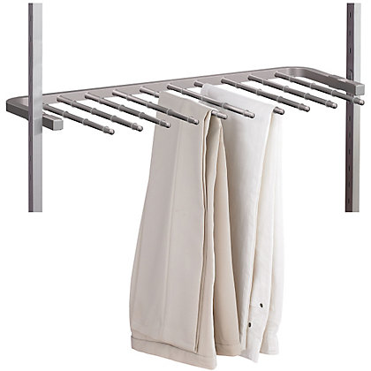 Image for AURA Silver Trouser Rack - 900mm from StoreName