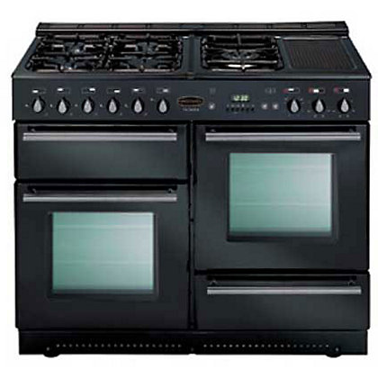 Image for Rangemaster Toledo 73170 110cm Dual Fuel Cooker - Black Gloss from StoreName