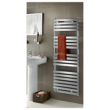 Image for Ariano Heated Towel Rail - 1400 x 500mm - Chrome from StoreName