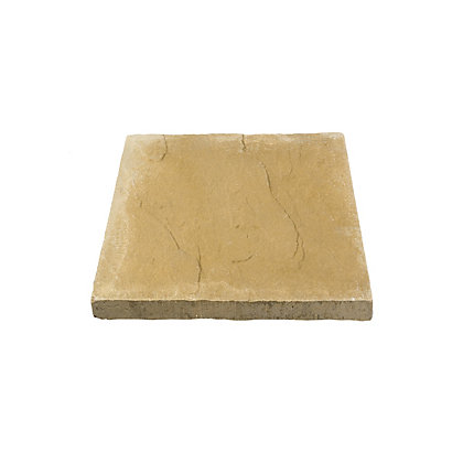 Image for Brett Riven Paving Slab 450x450mm - Buff from StoreName