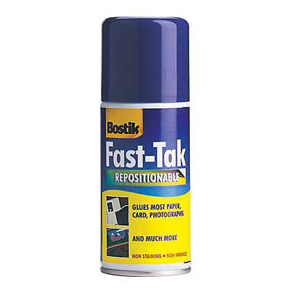 Image for Bostik Fast Tak Spray - 150ml from StoreName