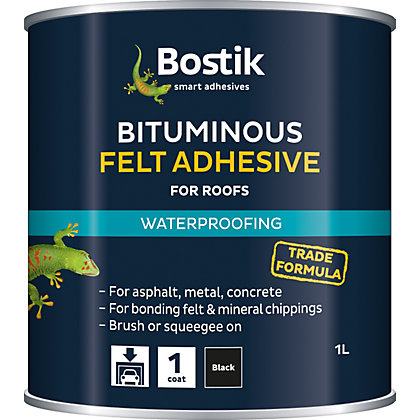 Image for Cementone Bituminous Felt Adhesive - 1L from StoreName