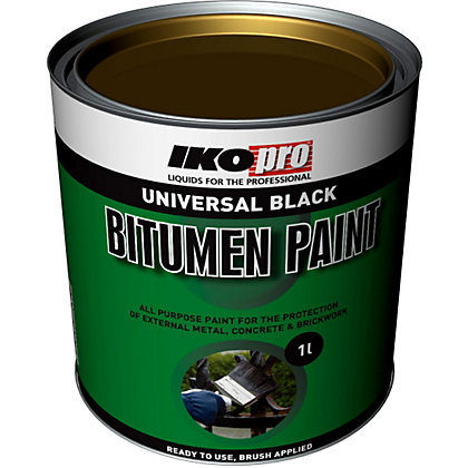 Image for IKOpro Black - Bitumen Paint - 1L from StoreName