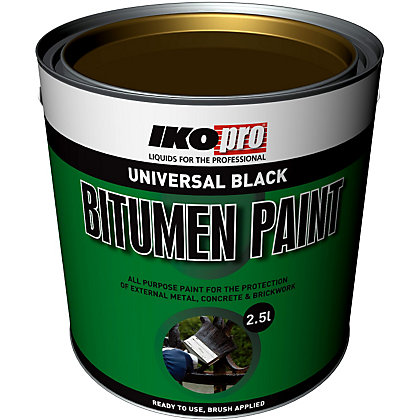 Image for IKOpro Black - Bitumen Paint - 2.5L from StoreName