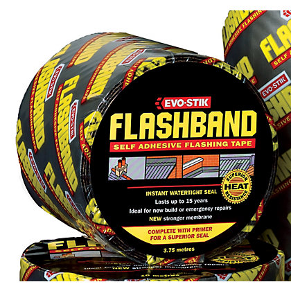Image for Evo-Stik Flashband And Primer - 3.75m x 75mm from StoreName