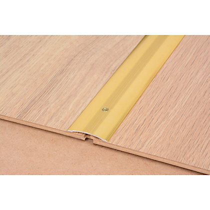 Image for Vitrex Smooth Floor Cover Strip Gold 0.9m (L) from StoreName