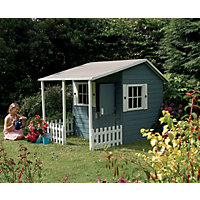 Wooden Cottage Playhouse