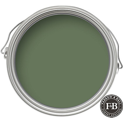 Image for Farrow & Ball Eco No.34 Calke Green - Exterior Eggshell Paint - 2.5L from StoreName