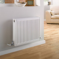 Thermokraft Double Convector Radiator 600H x 1200L White