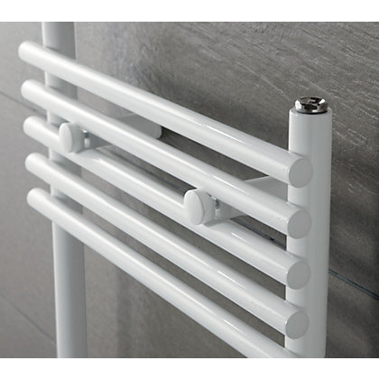 Image for Sardinia Heated Towel Rail - 1090 x 600mm - White from StoreName