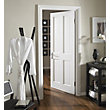 London 4 Panel Primed Stile & Rail Internal Door - 610mm Wide