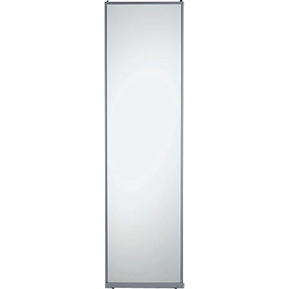 Image for Classic Silver Frame Mirror Sliding Door - 914mm from StoreName