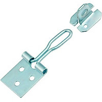 Wire Hasp & Staple Zinc Plated - 76mm