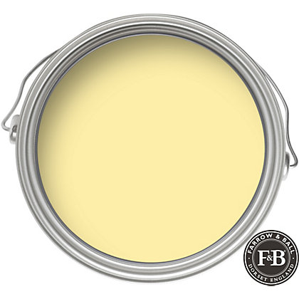 Image for Farrow & Ball Estate No.233 Dayroom Yellow - Matt Emulsion Paint - 2.5L from StoreName