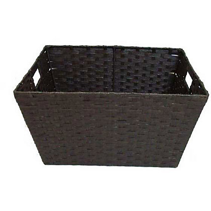 Image for Home of Style Brown Paper Basket - Large from StoreName