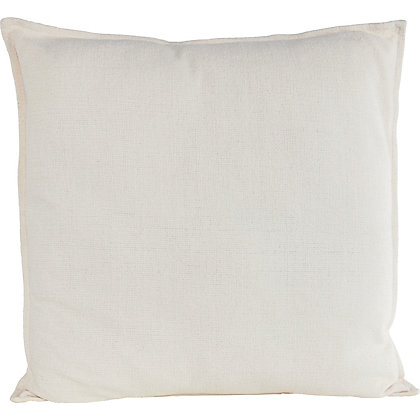 Image for Chenille Cushion - Cream - 58x58cm from StoreName