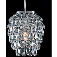 Pineapple Clear Pendant Shade