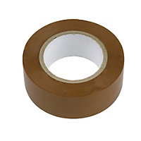 GET Insulation Tape - Brown - 10m