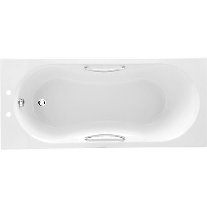 Image for Buxton Luxury Acrylic Bath with Grips from StoreName