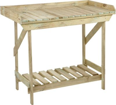 Timber Potting Bench